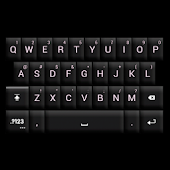 GO Keyboard Black/White Theme