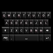 GO Keyboard Black/White Theme