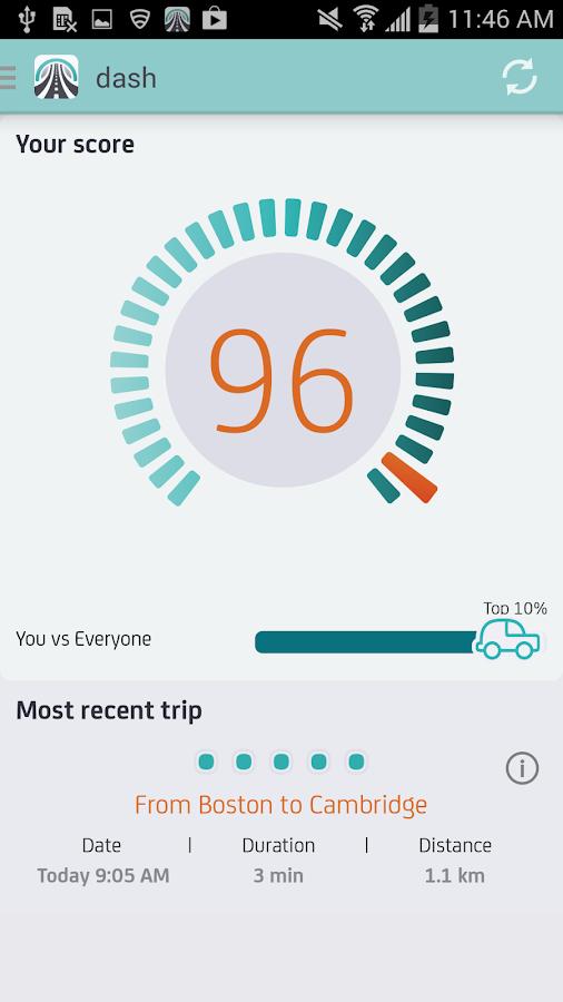 DriveWell Beta - screenshot