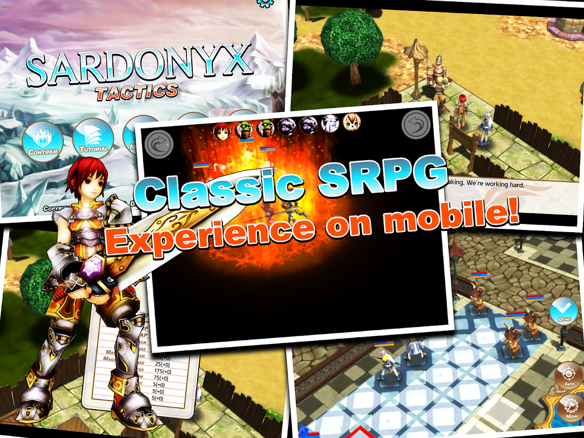 Sardonyx Tactics - screenshot