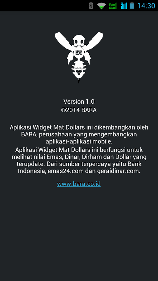 Mat Dollars (Widget)- screenshot