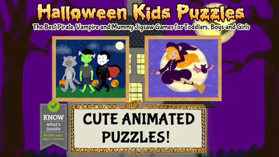 Halloween Games- Kids Puzzles - náhled