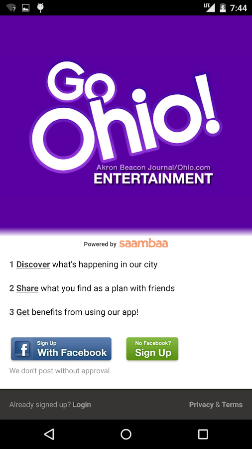 Go Ohio! – Akron Events- screenshot