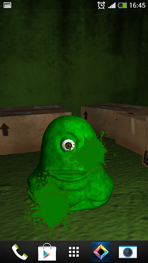 Jelly Monster Expectorating 3d