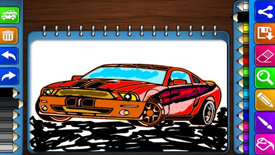 赛车着色 休閒 App-癮科技App