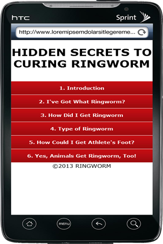 Secrets of Curing Ringworm