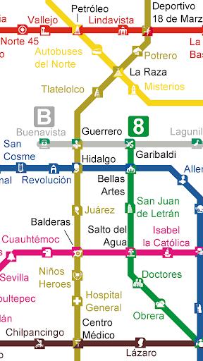 【免費交通運輸App】Metro de la Ciudad de México-APP點子