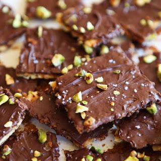 Chocolate Toffee Matzo Crunch