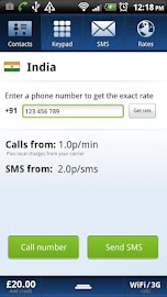 Localphone International Calls Screenshot 4