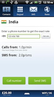 Localphone International Calls - screenshot thumbnail