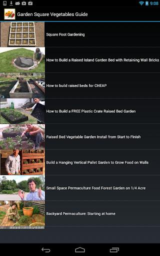 【免費媒體與影片App】Garden Square Vegetables Guide-APP點子