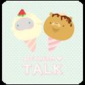 라라앤베리 아이스크림 카카오톡 테마 icon