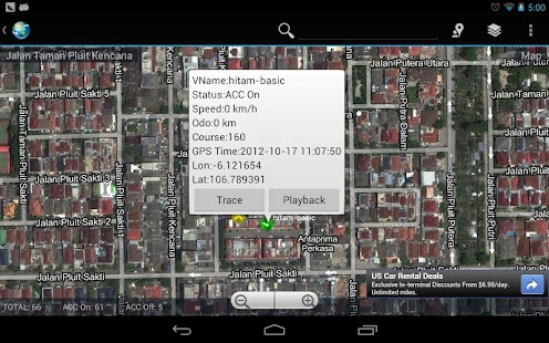 INDOGPS Vehicle Tracker HD - screenshot thumbnail