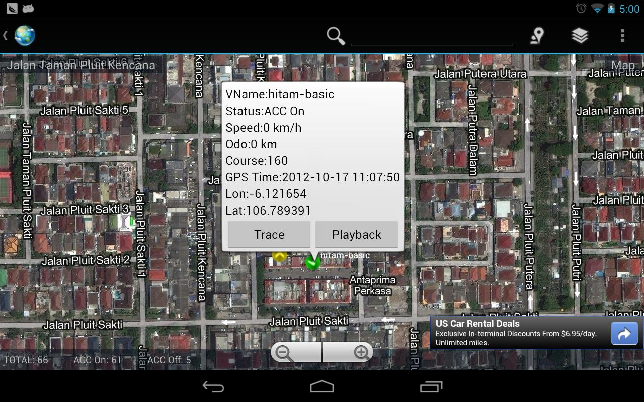 INDOGPS Vehicle Tracker HD - screenshot