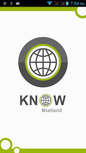 Know Thailand