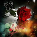 Love Red Rose Live Wallpaper icon