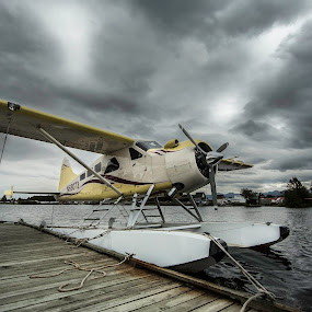 by Mark Richardson - Transportation Airplanes ( anchorage, airplane, alaska, seaplane, lake )