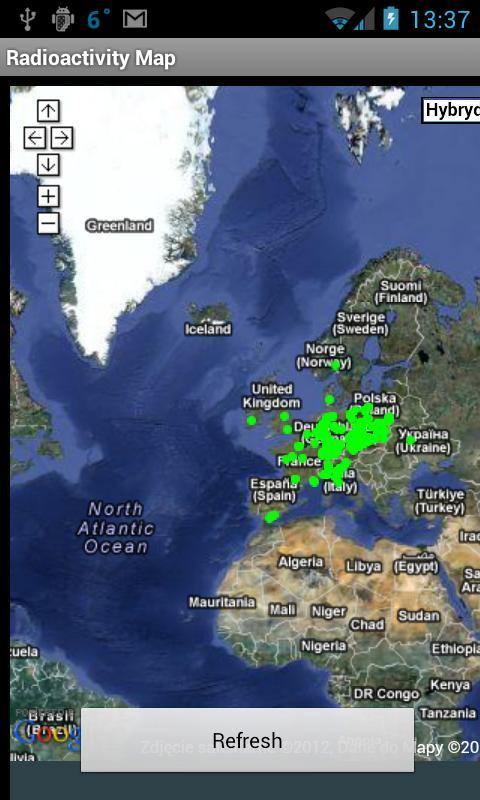 Radioactive@Home Map- screenshot