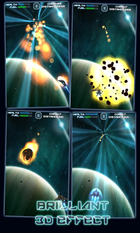 Rush Galaxy - screenshot