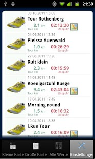 i.Run - GPS Running Coach - screenshot thumbnail