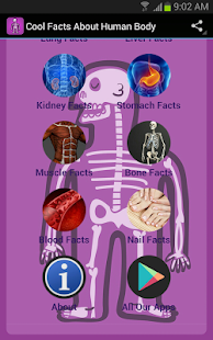 Cool Facts About Human Body screenshot
