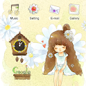 CUKI Themes Girl in flower