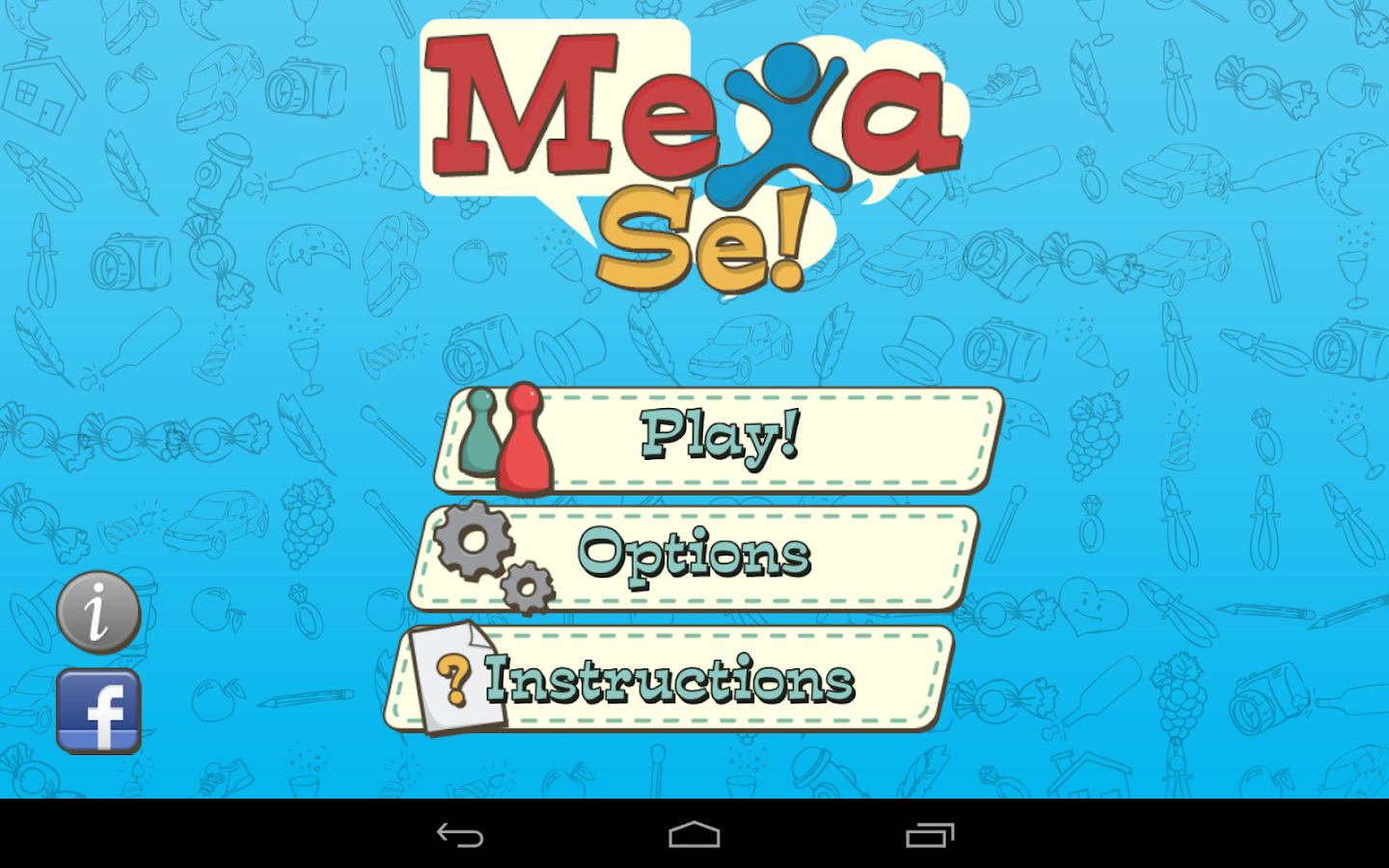 Mexa-se! Charades- screenshot