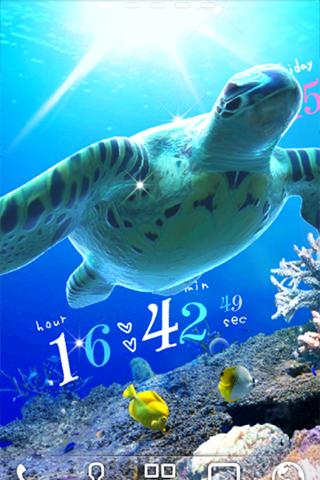 Sea Turtle LiveWallpaper Trial - screenshot