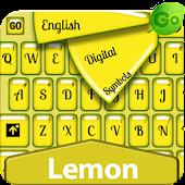 GO Keyboard Lemon