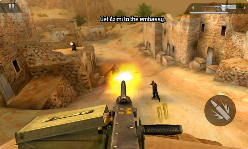 Modern Combat 2: Black Pegasus - screenshot