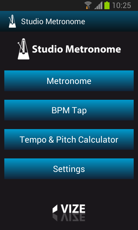 Mobile Studio Metronome- screenshot