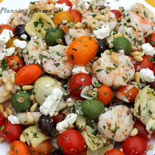 Mediterranean Shrimp 'n Couscous Salad.