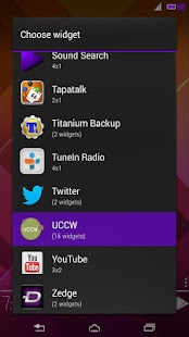 Status Bar UCCW Skin - screenshot thumbnail