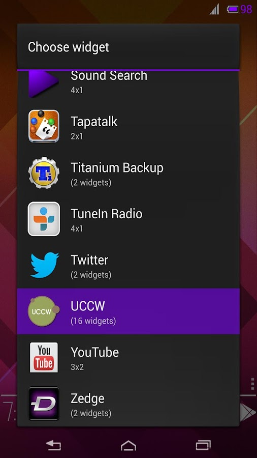 Status Bar UCCW Skin - screenshot