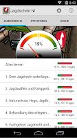 Screenshot of Jagdschein Niedersachsen