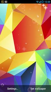 Galaxy S5 Live Wallpaper screenshot