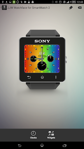 JJW Chrono Color Watchface SW2