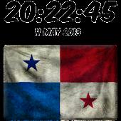 Panama Digital Clock