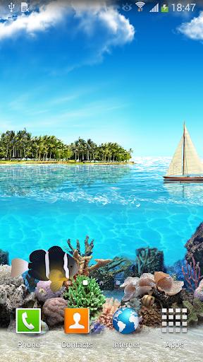 Tropical Ocean Wallpaper Lite