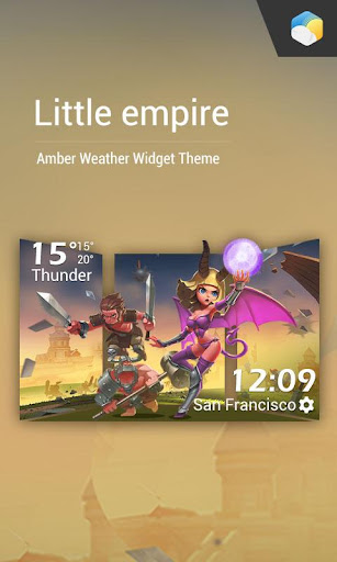 玩免費天氣APP|下載Little Empire weather widget app不用錢|硬是要APP