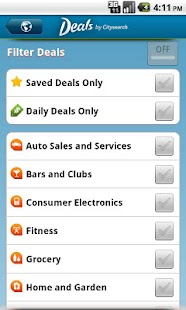 Deals by Citysearch- screenshot thumbnail
