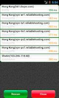 Screenshot of VPN Watcher