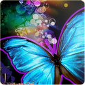 Sparkling Butterfly LWP icon