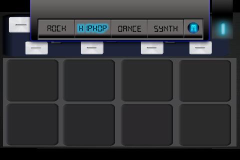 Midi drum synth pad