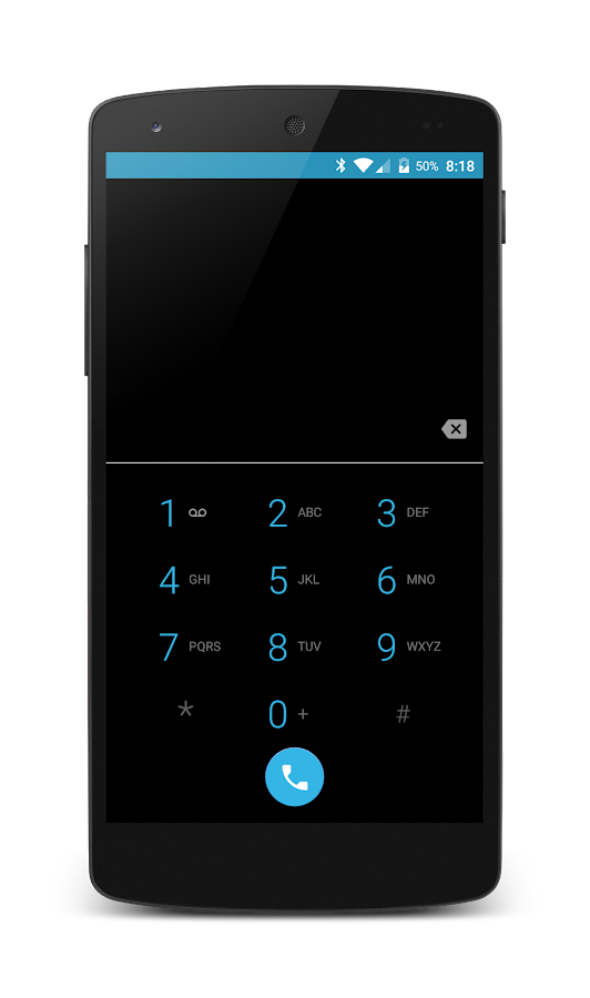 Dark Holo CM12 Theme- screenshot