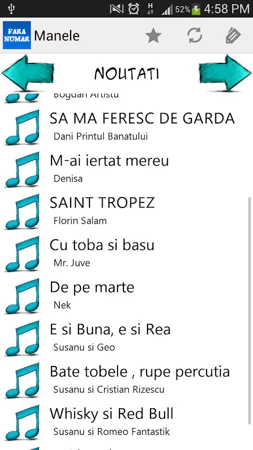 Manele Portalul tau de muzica - screenshot