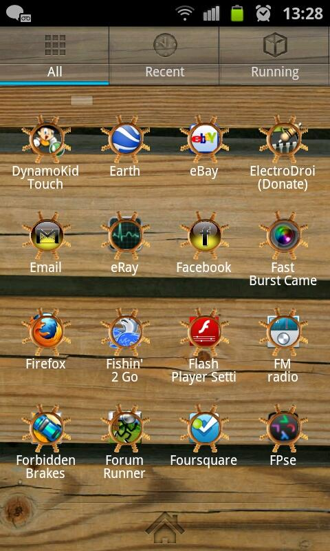 Titanic GO Launcher EX Theme - screenshot