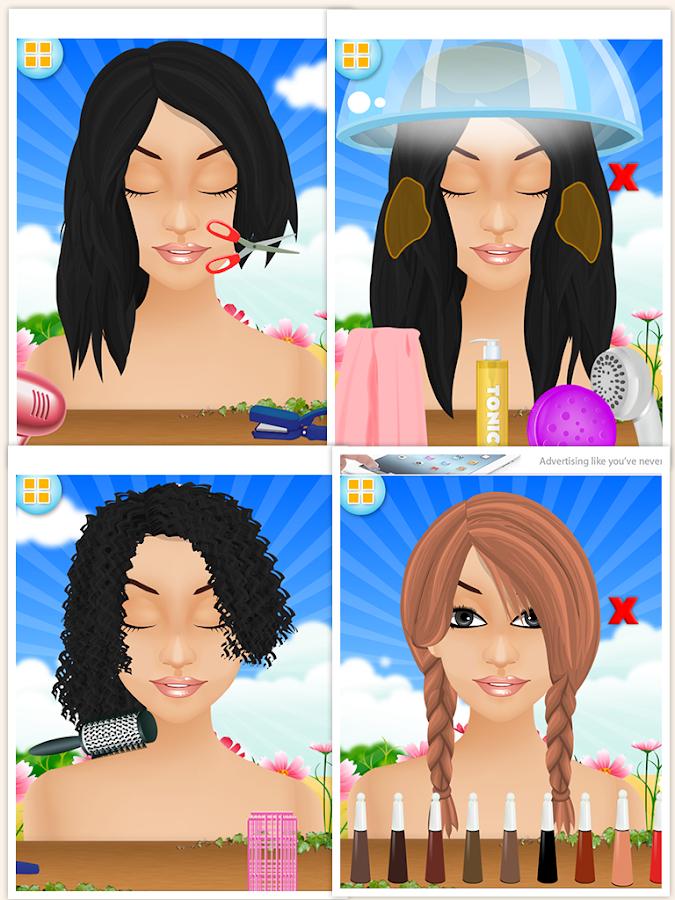 Fairy Salon Lite - Girls Games - screenshot
