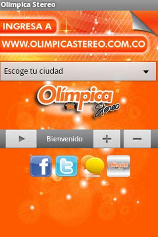 Olimpica Stereo - screenshot
