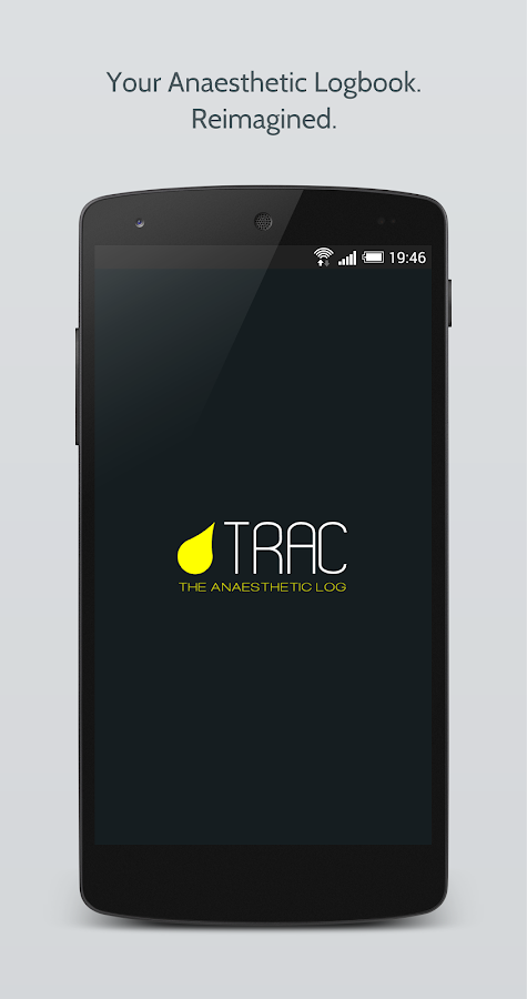 Trac: The Anaesthetic Logbook- screenshot